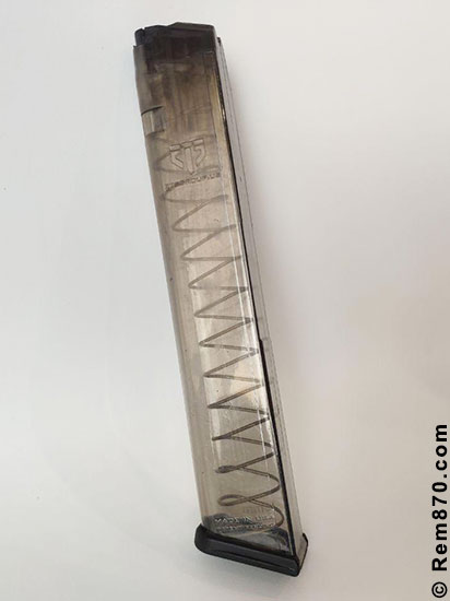 ETS (Elite Tactical Systems) Clear Glock Magazine